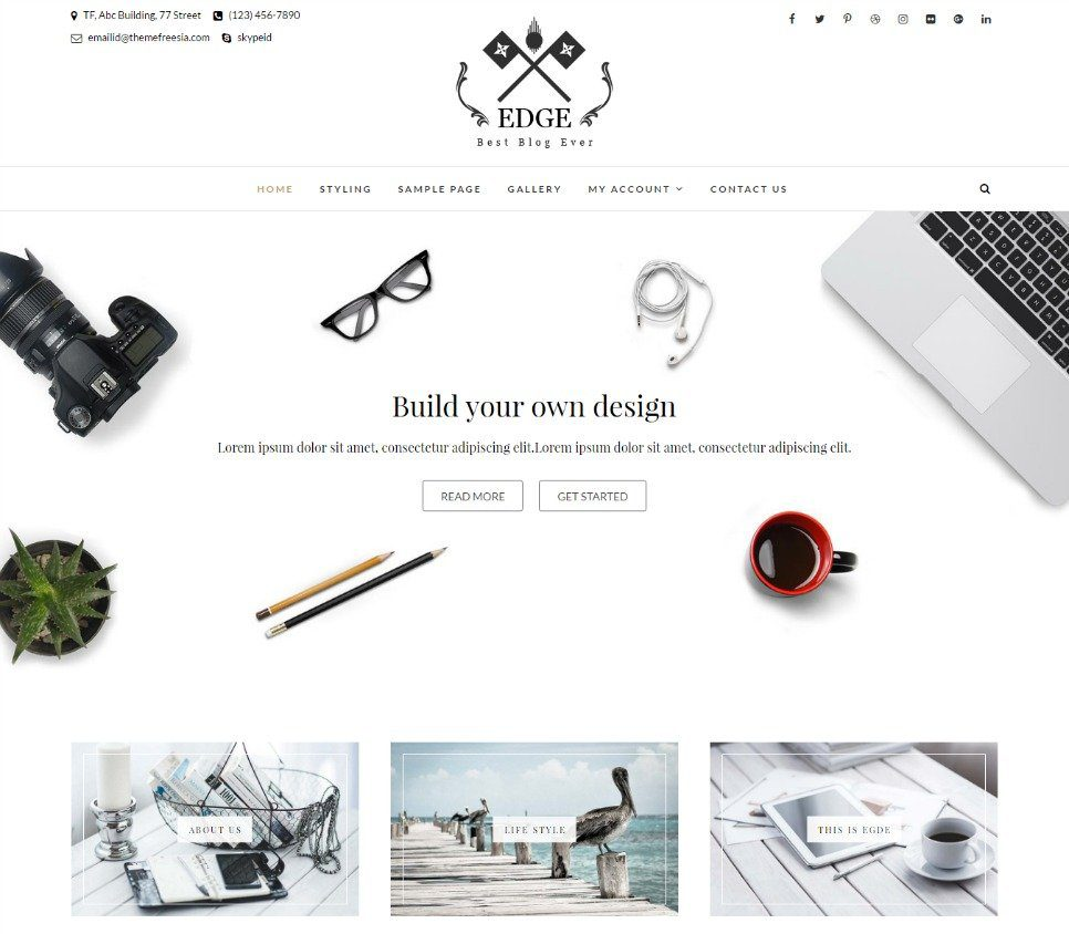 Edge WordPress Theme