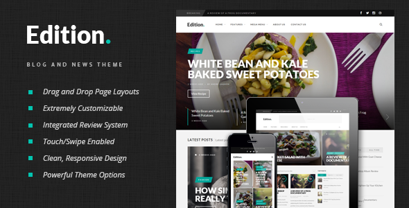 Edition WordPress Theme