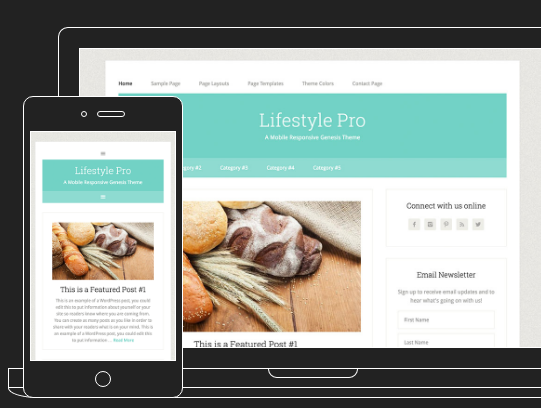 Lifestyle Pro WordPress Theme