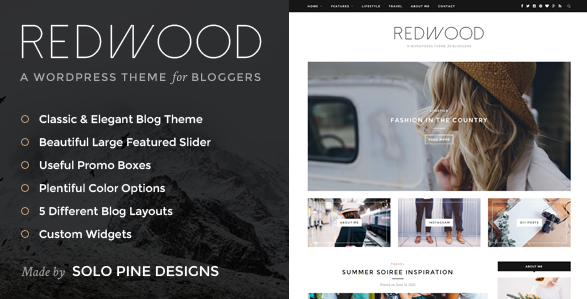 Redwood WordPress Theme