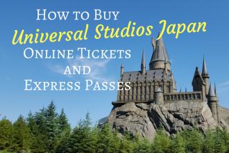 How to Buy Universal Studios Japan USJ Osaka Tickets and Express Pass