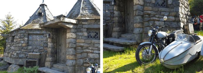 Hagrid's Hut in Wizarding World of Harry Potter USJ
