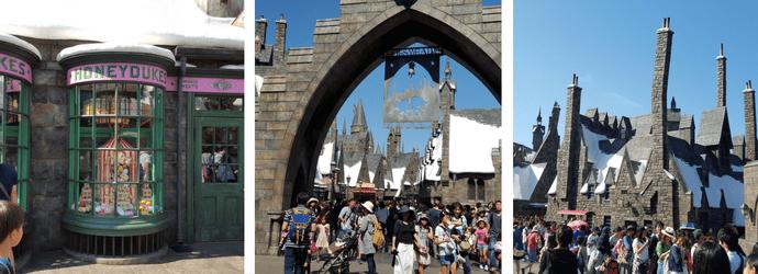 Hogsmeade Village in Wizarding World of Harry Potter USJ