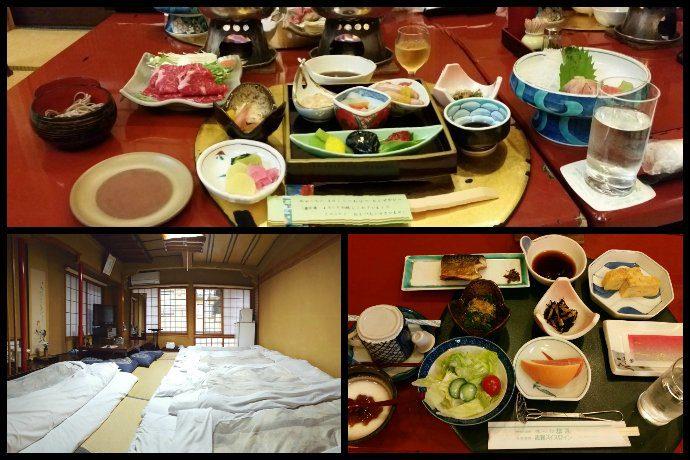 Senshinkan Matsuya Ryokan Rooms and Food Options