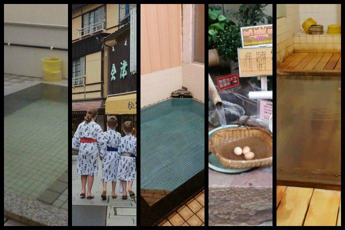 Views of the Shibu Onsen hot spring town