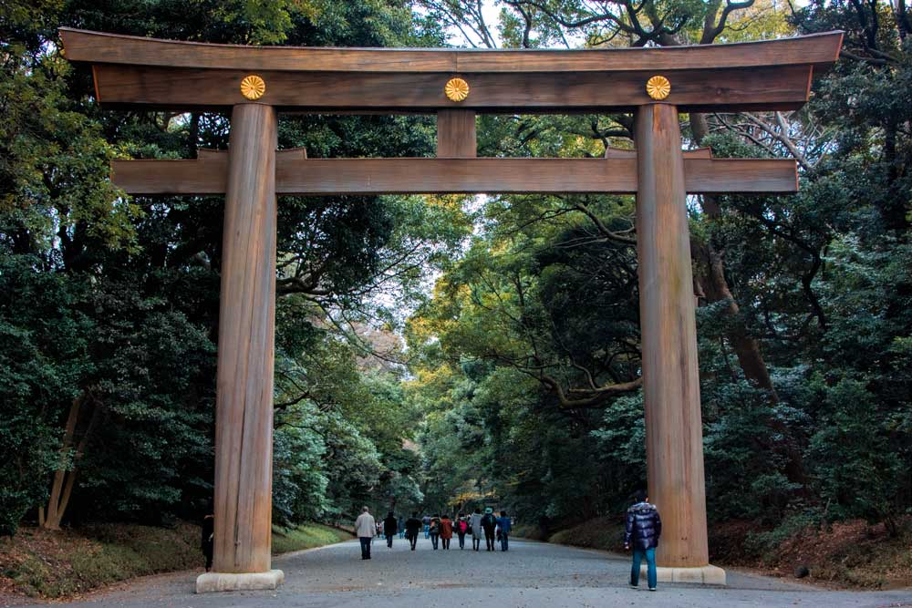 Meiji Jingo Shrine - 2 Aussie Travellers