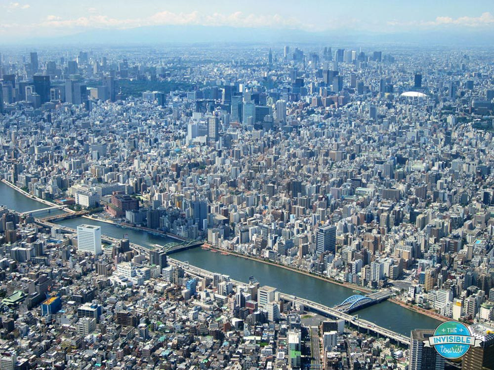 Tokyo Skytree View - The Invisible Tourist