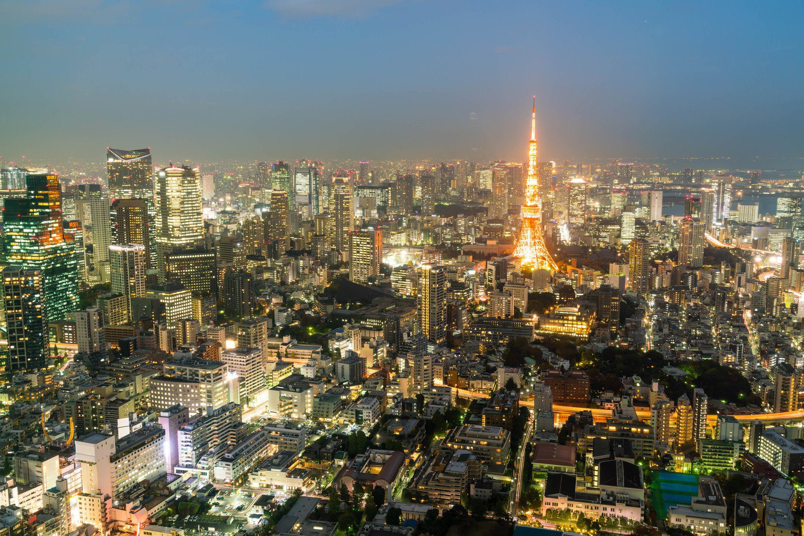 Tokyo Tower at Dusk