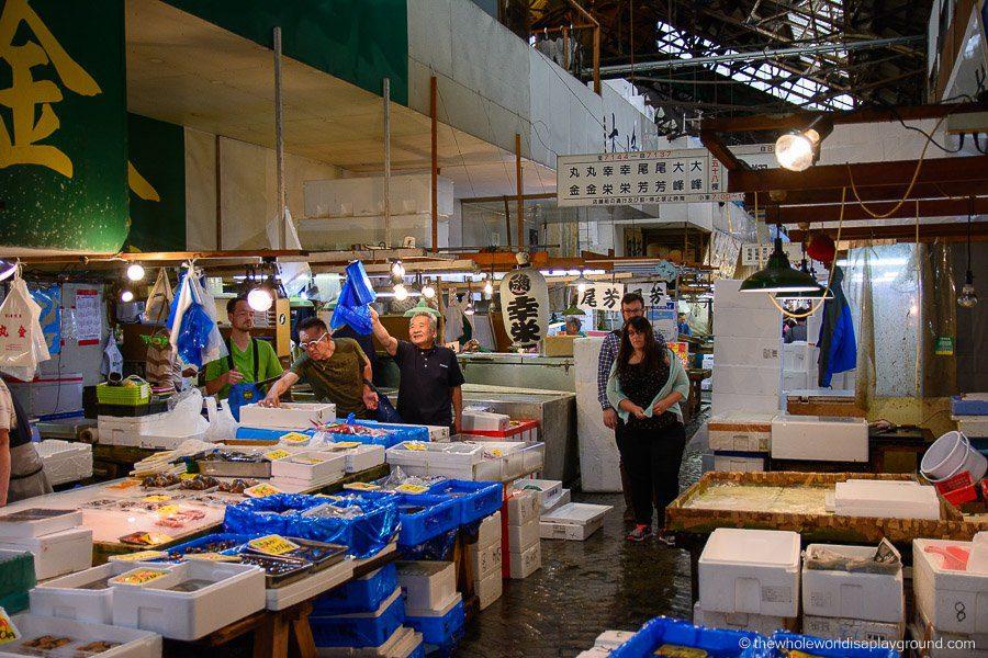 Tsukiji Fish Market - The Whole World Is A Playground