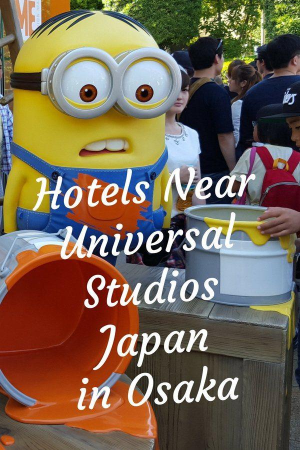 Hotels Near Universal Studios Japan USJ in Osaka