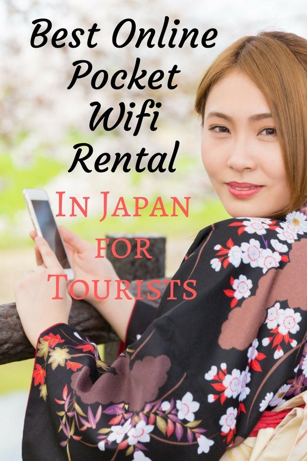 Best Online Pocket Wifi Rental in Japan for Tourists