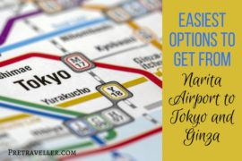 How to Get From Narita Airport to Tokyo and Ginza
