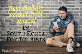 Best Online Pocket Wifi Rental in South Korea