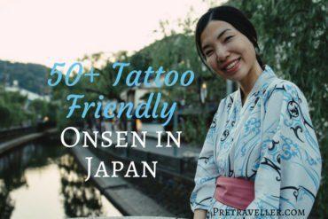 Tattoo Friendly Onsen in Japan