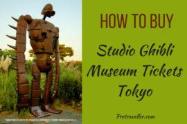 How to Buy Studio Ghibli Museum Tickets for Tokyo, Japan