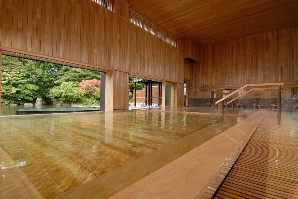 Onsen at Hoshino Resorts Aomoriya
