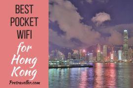 Best Hong Kong Pocket Wifi Rental