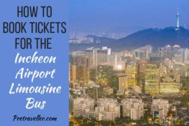 How to Book Tickets for the Incheon Airport Limousine Bus