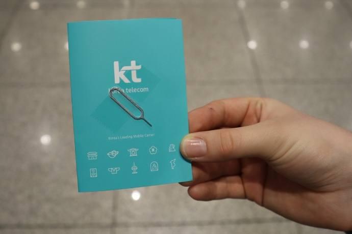 KT Olleh Sim Card Package