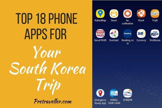 Phone Apps for South Korea Trip