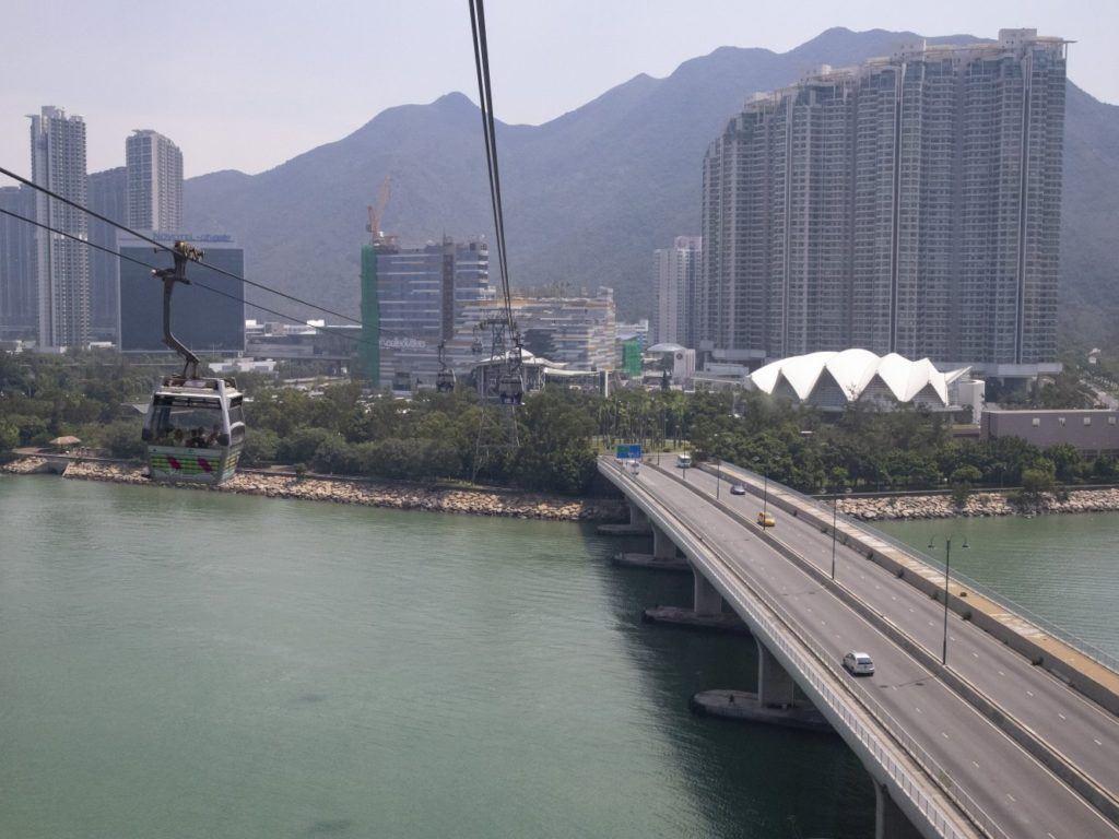 Ngong Ping 360 View over Tung Chung