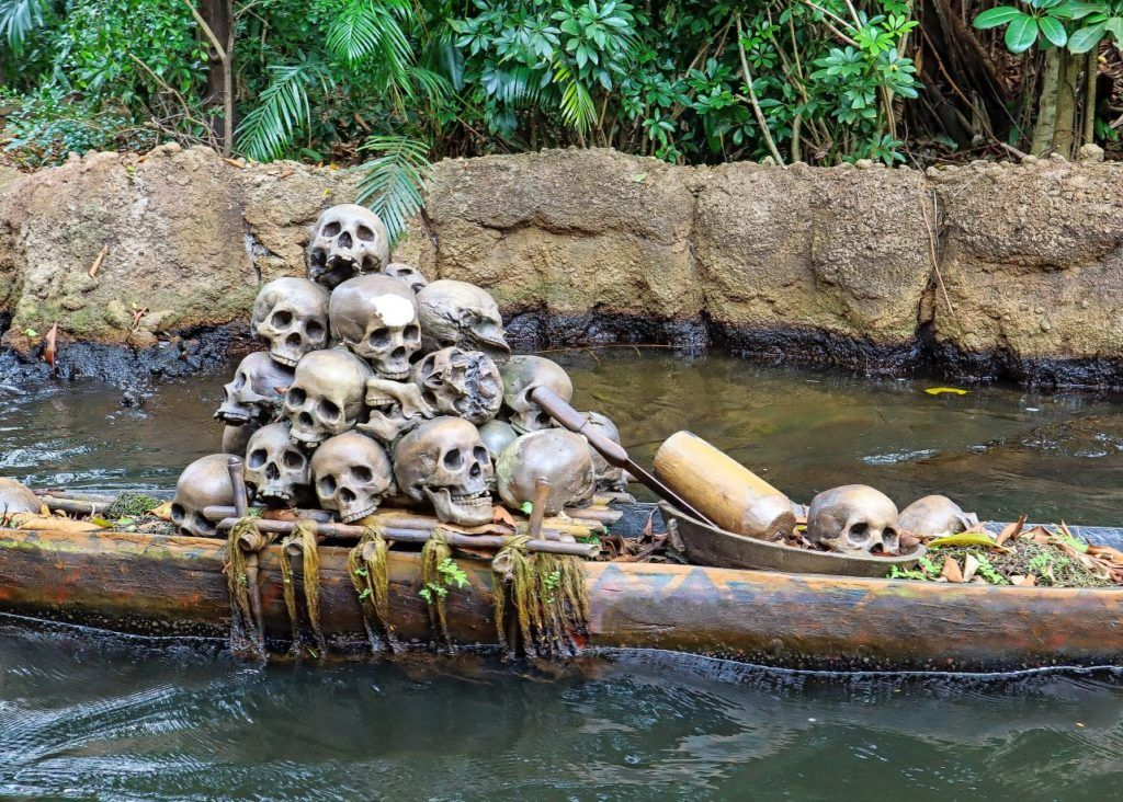 Headhunters on the Jungle River Cruise