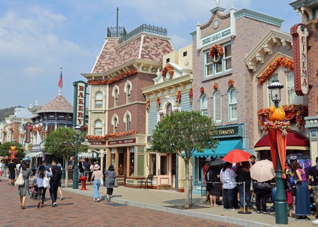 Hong Kong Disneyland Main Street