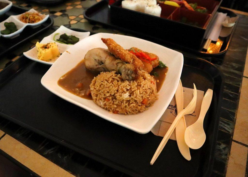 Hong Kong Disneyland Meal Example