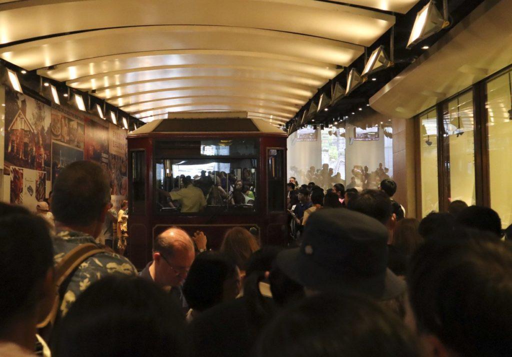 Victoria Peak Tram Queues 2