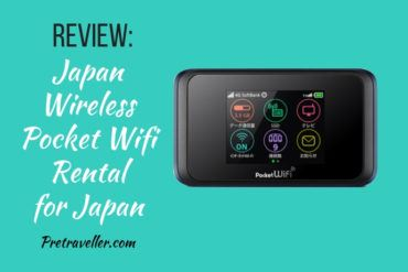 Japan Wireless Pocket Wifi Review for Japan
