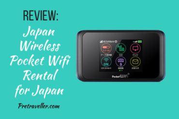Japan Wireless Pocket Wifi Review for Japan