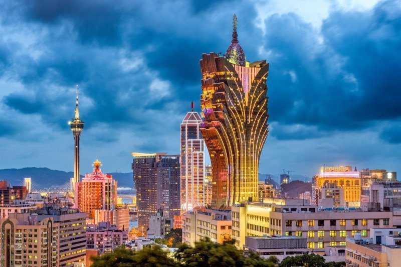 Macau Cityscape at Dusk
