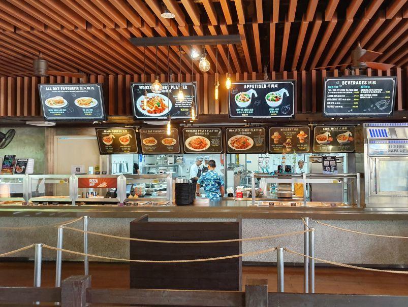 Bay Restaurant Menu