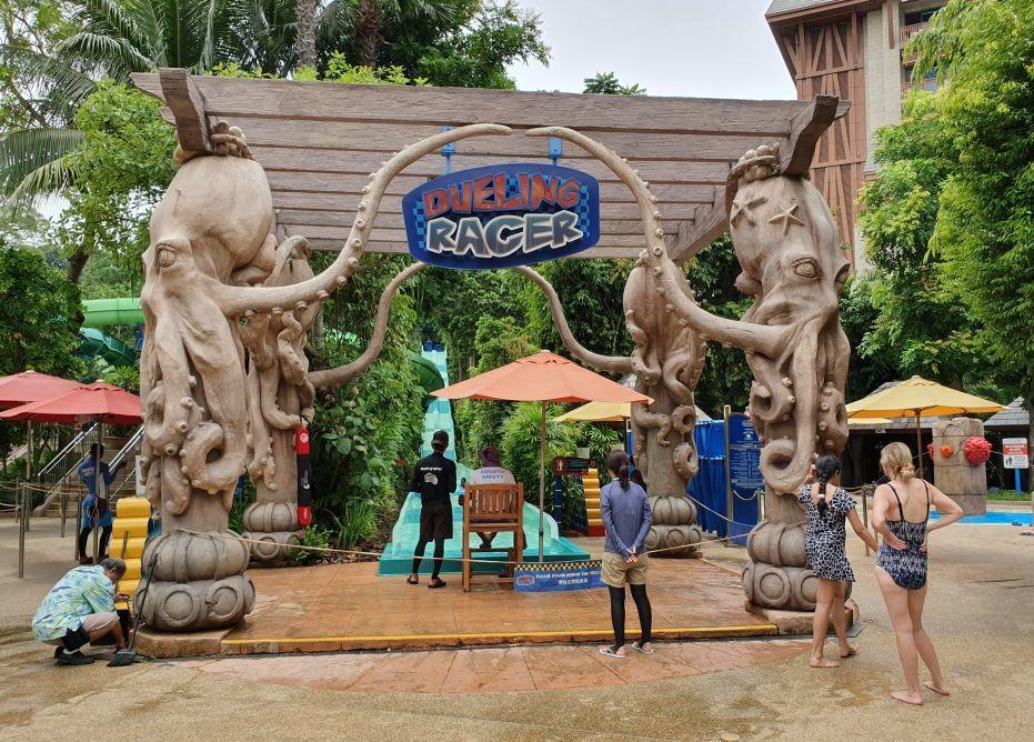 Duelling Racer Entrance