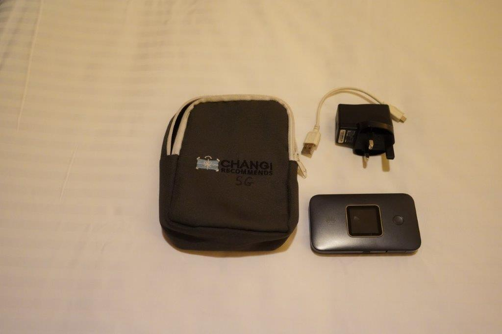 Klook Pocket Wifi Singapore Package Contents