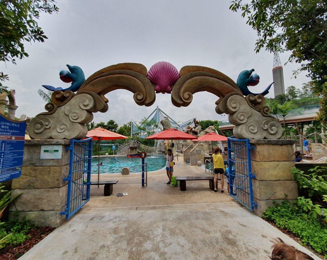 Entrance to Splashworks