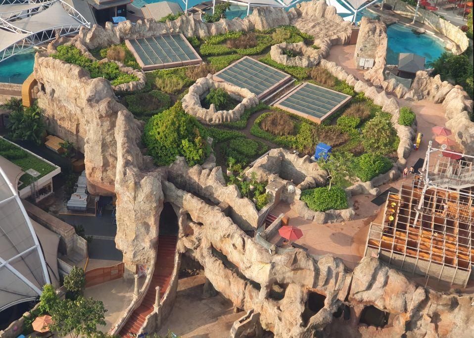 Wet Maze Aerial Photo