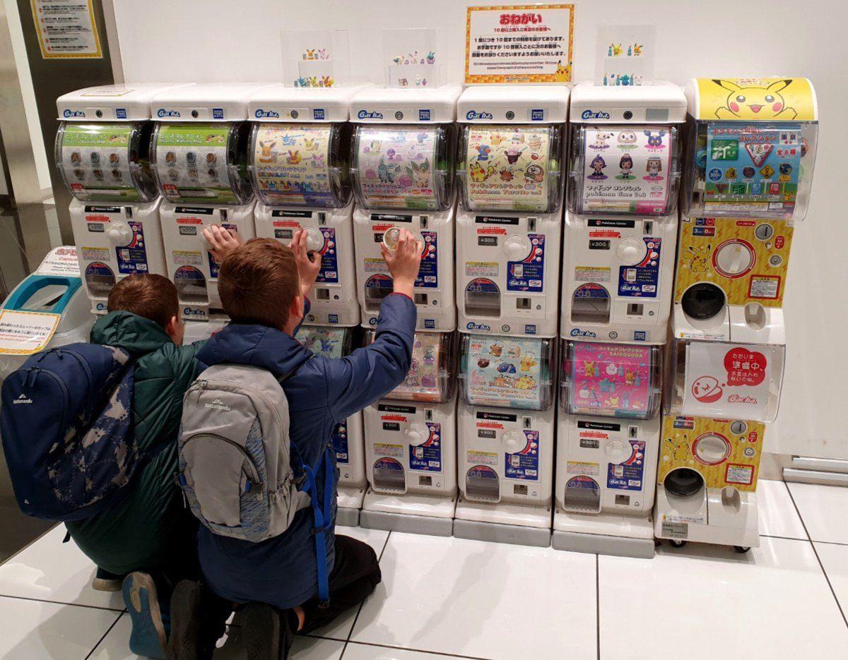 Akihabara Gachapon Machines