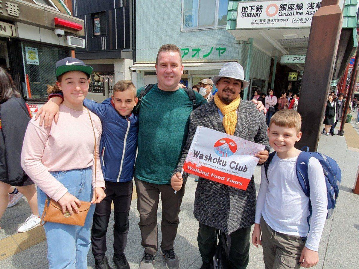 Asakusa Cultural Tour with Washoku Club Food Tours