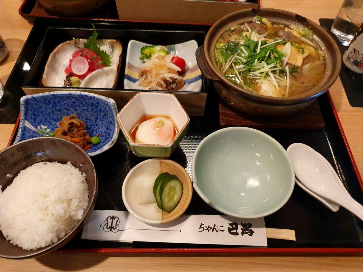 Chanko Nabe Meal in Ryogoku Tokyo