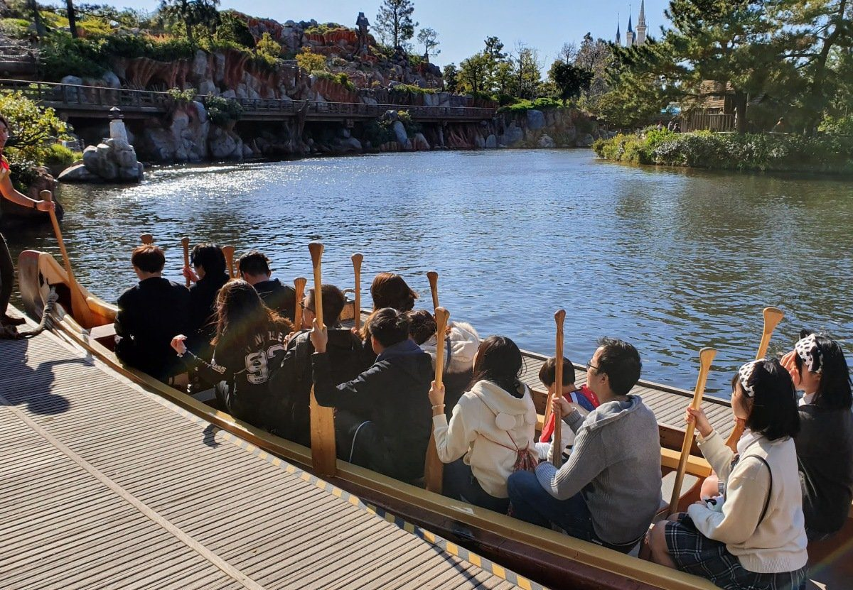 Disneyland Tokyo - Canoeing Activity