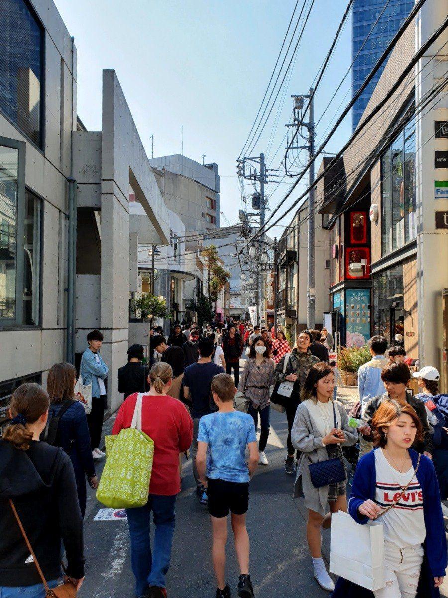 Exploring Takedori Dori Street with our Guide