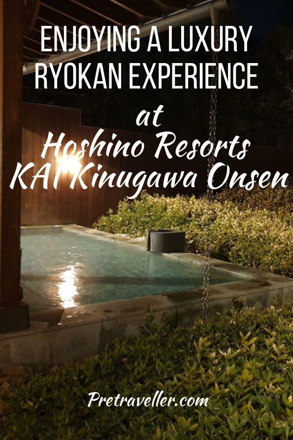Hoshino Resorts KAI Kinugawa Onsen
