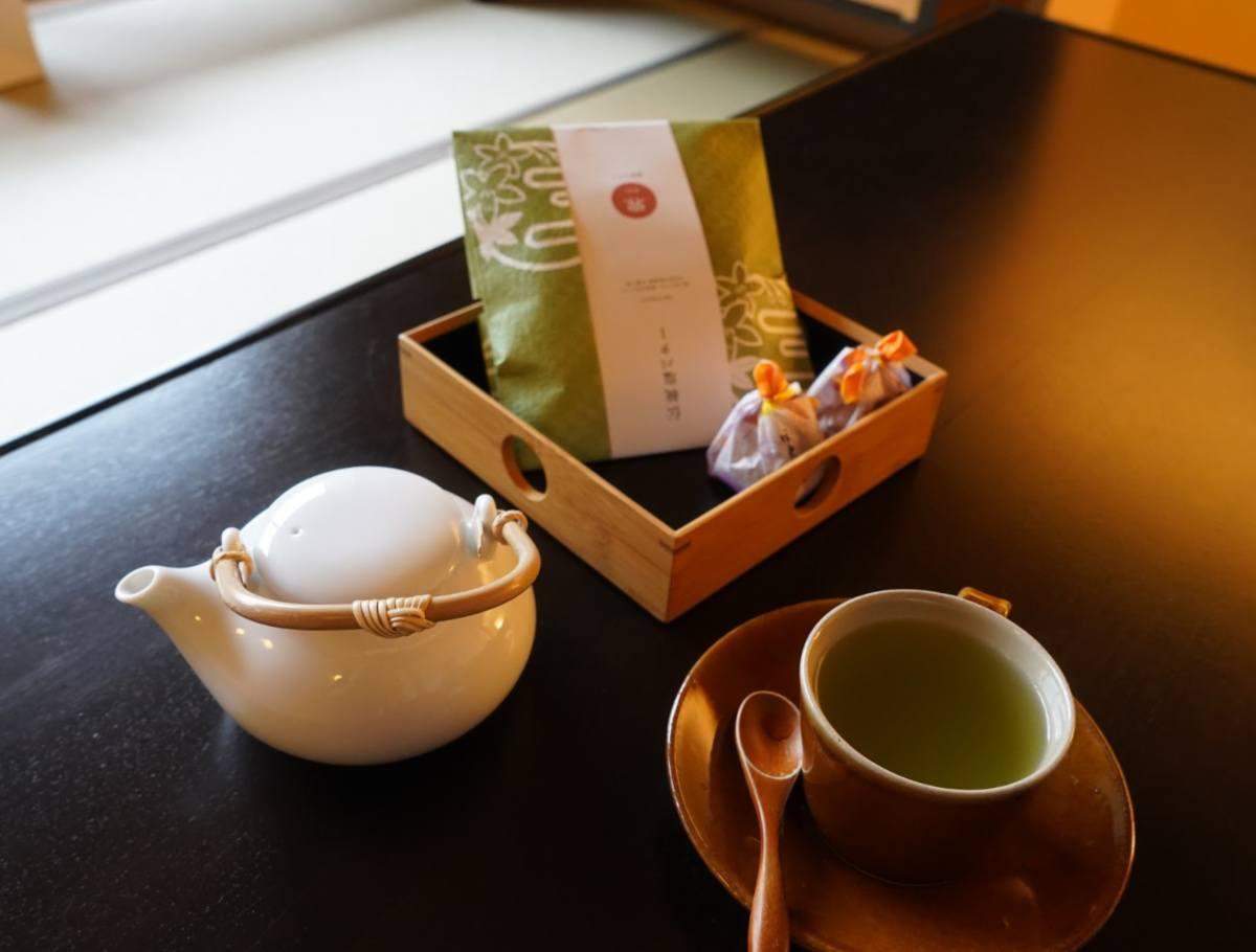 KAI Kinugawa Room Matcha Tea and Snacks