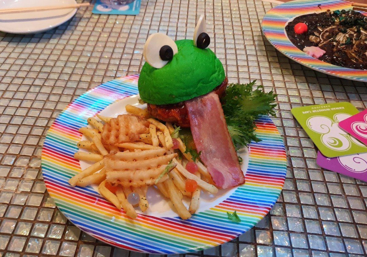 Kawaii Monster Cafe Very Cute Burger and Fries