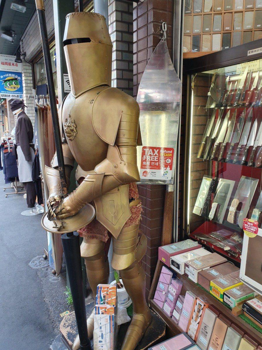 Knife Shop in Kappabashi Dori Kitchen Street