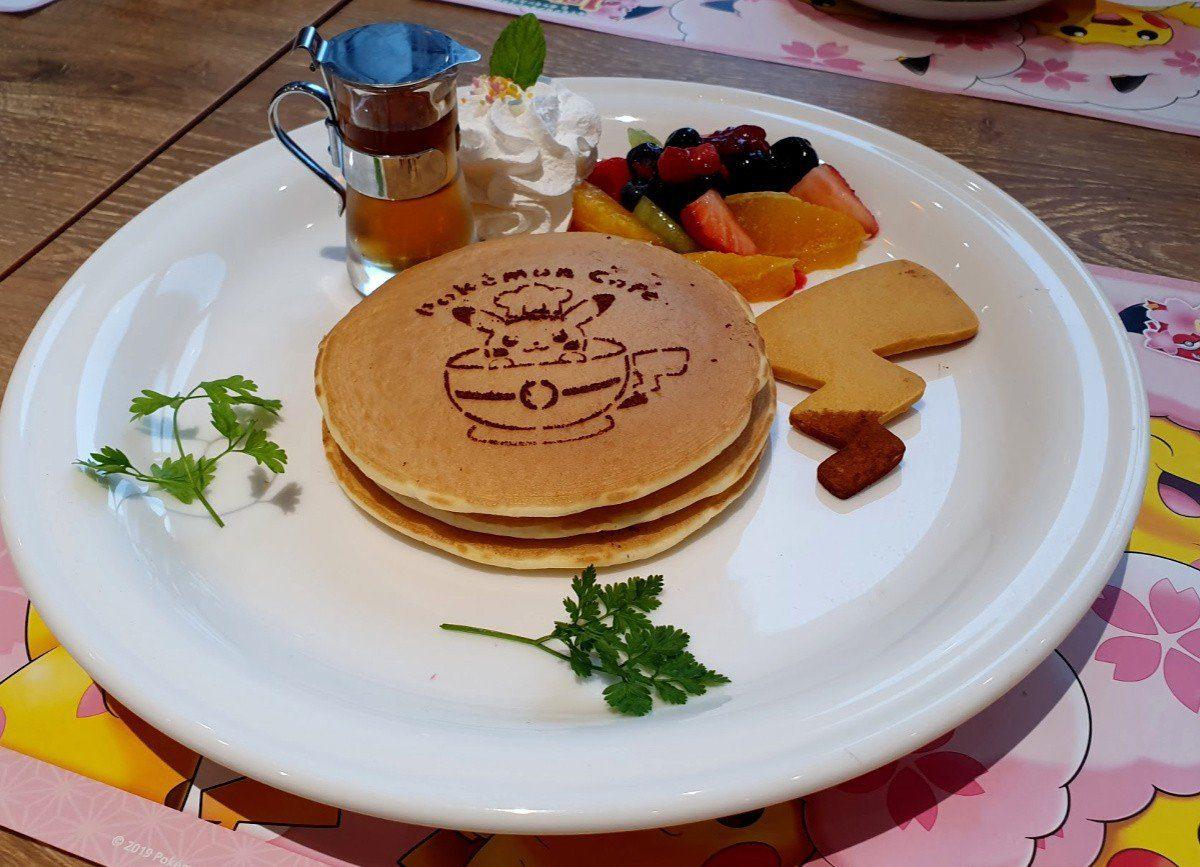 Pokemon Cafe Themed Dessert