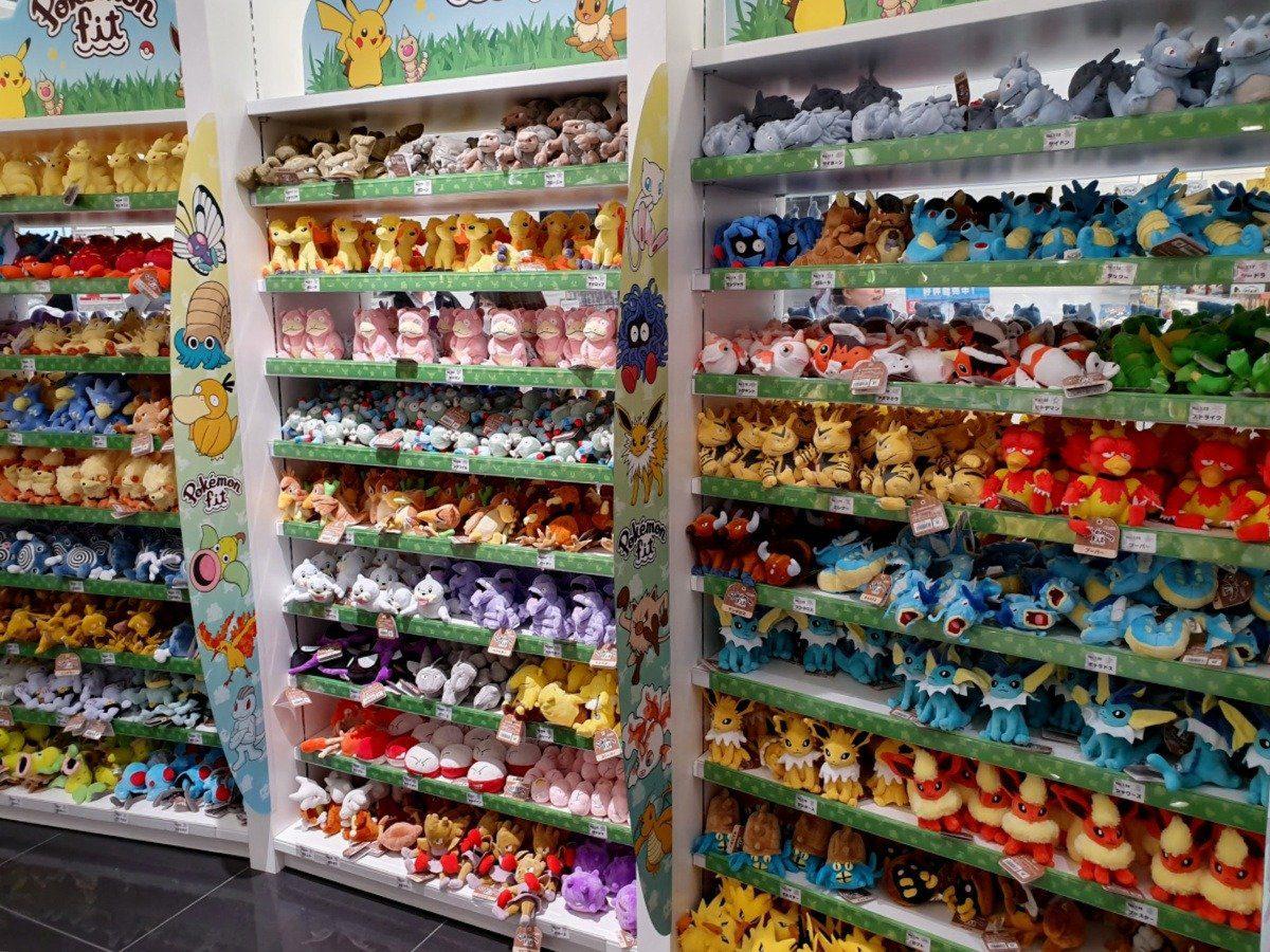 Pokemon Centre near Nihonbashi Tokyo