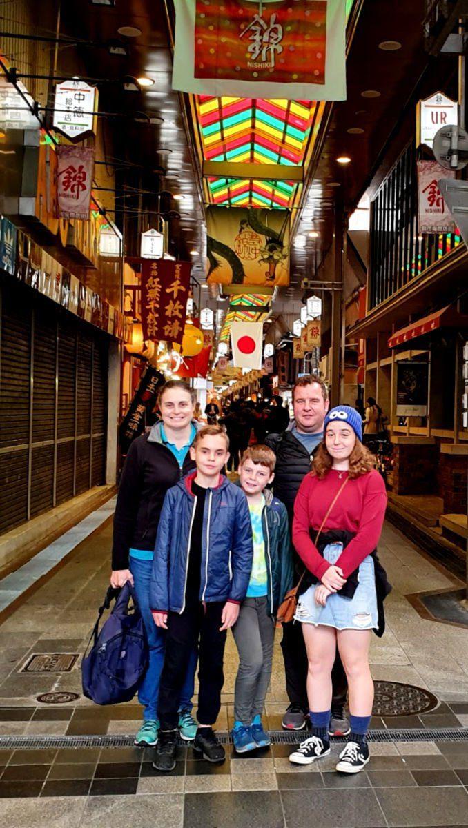 Exploring Nishiki Market in Kyoto