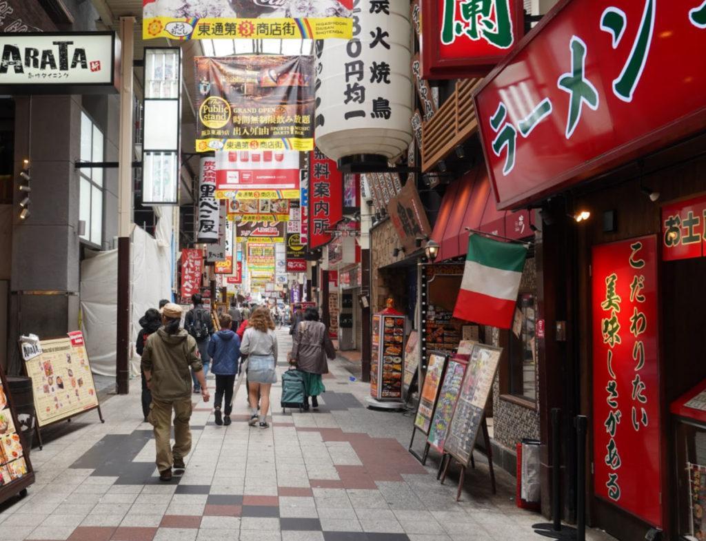 Exploring the Foodie Area in Dotombori Osaka